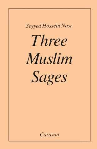 Three Muslim Sages  Reprint  edition cover