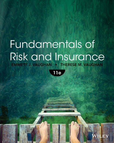 Fundamentals of Risk and Insurance  11th 2014 edition cover