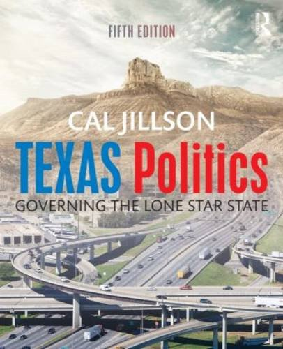 Texas Politics Governing the Lone Star State 5th 2016 (Revised) edition cover