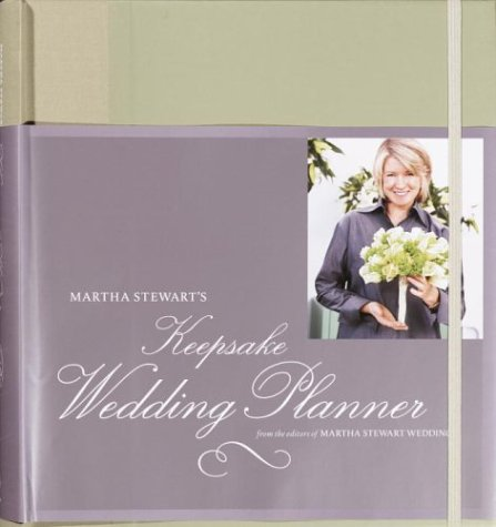 Martha Stewart's Keepsake Wedding Planner   2003 9781400048007 Front Cover