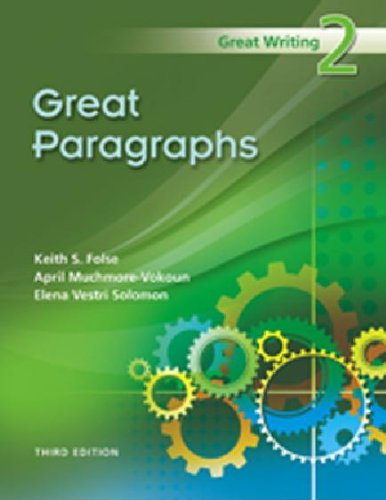 Great Paragraphs  3rd 2009 edition cover