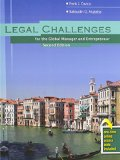 Legal Challenges for the Global Manager and Entrepreneur:   2014 edition cover