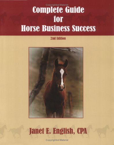 Complete Guide for Horse Business Success 2nd edition cover
