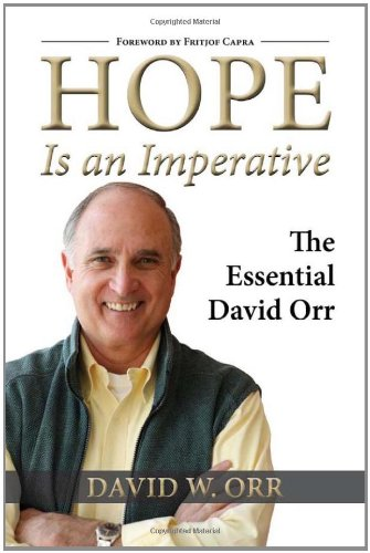 Hope Is an Imperative The Essential David Orr  2010 edition cover