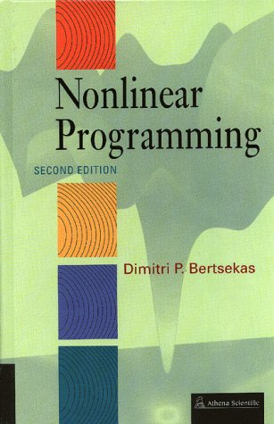 Nonlinear Programming  2nd 1999 9781886529007 Front Cover