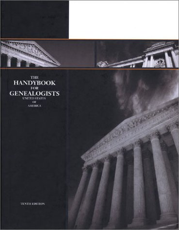 Handybook for Genealogists 10th 2002 edition cover