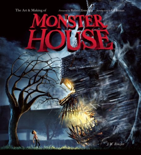 Art and Making of Monster House  N/A 9781933784007 Front Cover