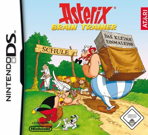 Asterix Brain Trainer Nintendo DS artwork