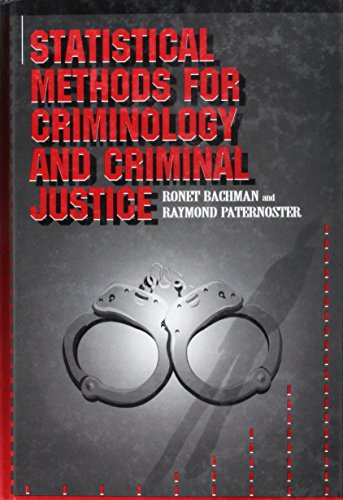 Statistical Methods for Criminology and Criminal Justice   1997 edition cover