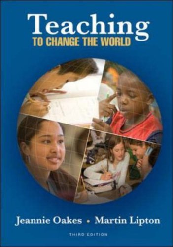 Teaching to Change the World  3rd 2007 (Revised) 9780072982008 Front Cover