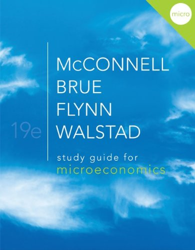 Study Guide for Microeconomics  19th 2012 edition cover