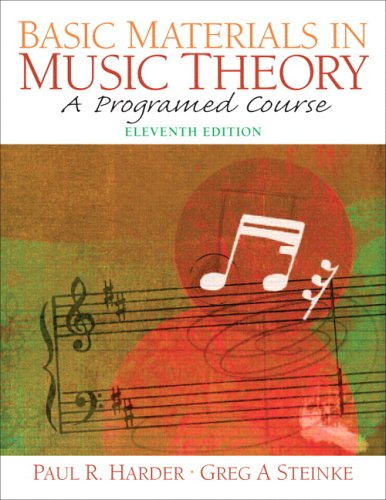 Basic Materials in Music Theory  11th 2006 (Revised) edition cover