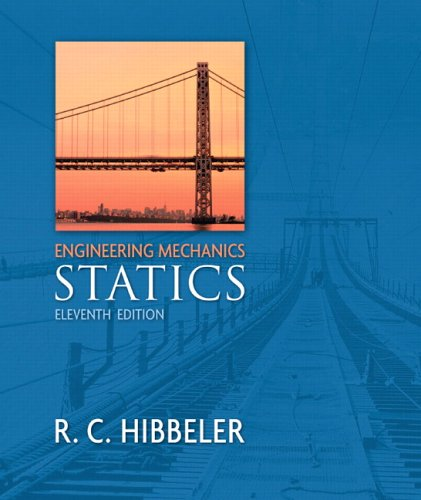 Engineering Mechanics: Statics  11th 2007 (Revised) edition cover