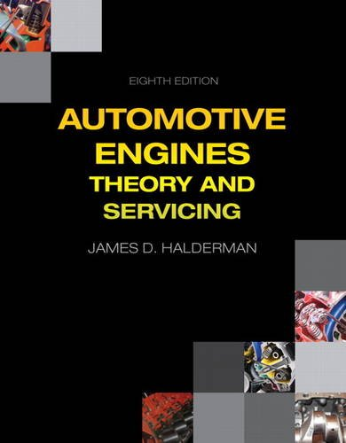 Automotive Engines Theory and Servicing 8th 2015 edition cover