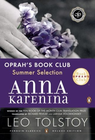 Anna Karenina   2000 (Deluxe) 9780143035008 Front Cover