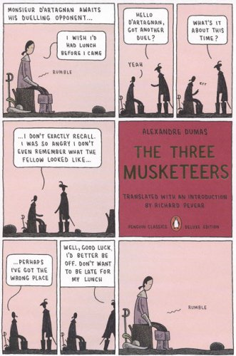 Three Musketeers  N/A edition cover