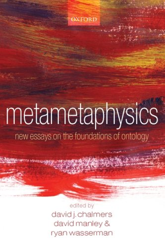 Metametaphysics New Essays on the Foundations of Ontology  2009 9780199546008 Front Cover