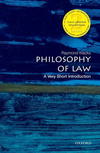 Philosophy of Law  2nd 2014 9780199687008 Front Cover