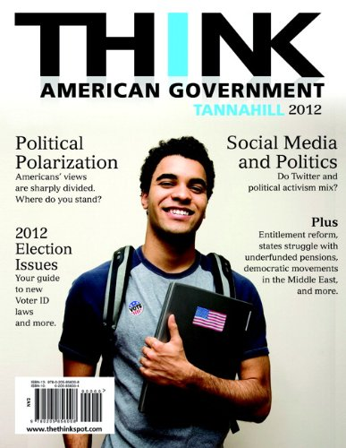 Think American Government 2012 4th 2013 (Revised) edition cover