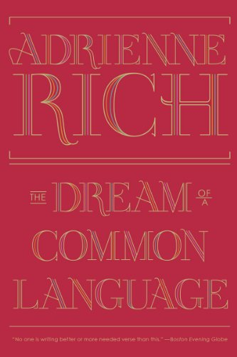 Dream of a Common Language Poems, 1974-1977  N/A 9780393346008 Front Cover
