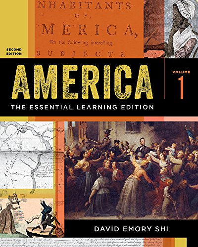 America: the Essential Learning Edition  2nd 9780393643008 Front Cover