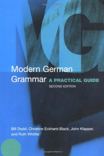 Modern German Grammar A Practical Guide 2nd 2003 (Revised) edition cover