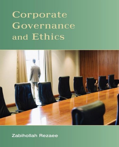 Corporate Governance and Ethics   2008 edition cover