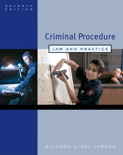 Criminal Procedure Law and Practice 7th 2007 (Revised) edition cover
