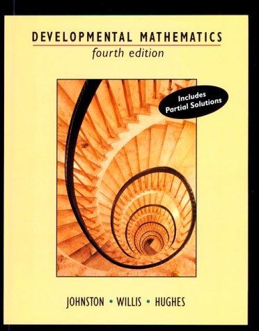 Developmental Mathematics  4th 1995 9780534945008 Front Cover