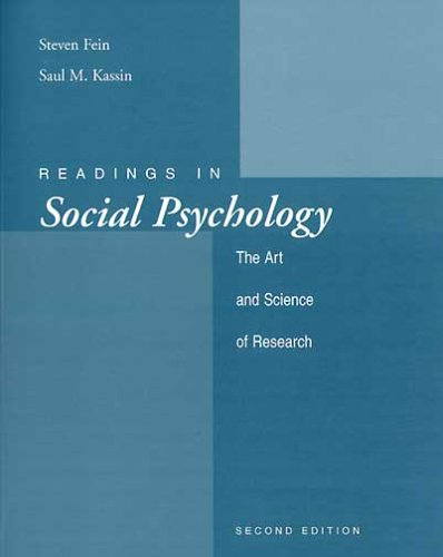 Social Psychology : With Student CD-ROM and Critical Thinking Supplement 5th 2002 9780618249008 Front Cover