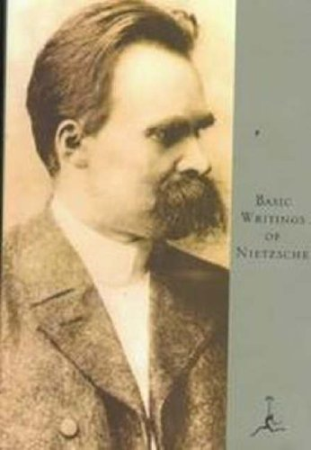Basic Writings of Nietzsche  Large Type edition cover