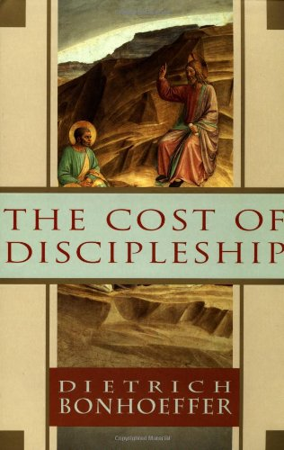 Cost of Discipleship   1959 9780684815008 Front Cover