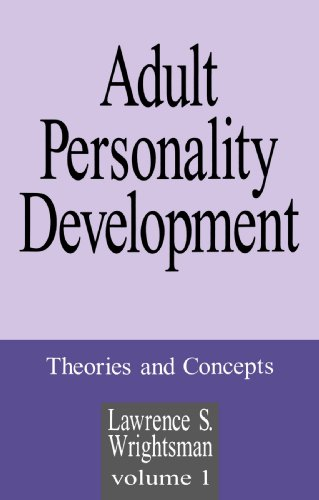 Adult Personality Development Theories and Concepts  1994 edition cover