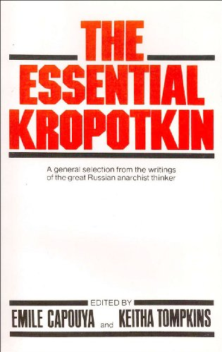 Essential Kropotkin  N/A 9780871404008 Front Cover