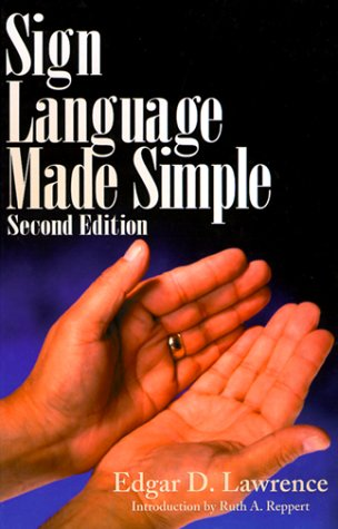 Sign Language Made Simple  2nd 1999 edition cover