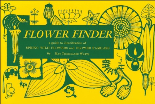 Flower Finder A Guide to the Identification of Spring Wild Flowers and Flower Families East of the Rockies and North of the Smokies, Exclusive of Trees and Shrubs  1955 edition cover