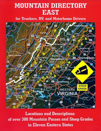 Mountain Directory East for Truckers, RV, and Motorhome Drivers  2006 edition cover