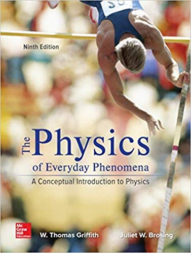 PHYSICS OF EVERYDAY PHENOMENA           N/A 9781259894008 Front Cover