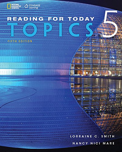 Reading for Today 5: Topics  5th 2017 (Revised) 9781305580008 Front Cover