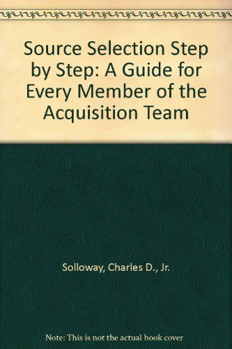 Source Selection Step by Step   2011 9781567263008 Front Cover