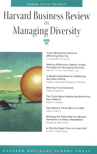 Harvard Business Review on Managing Diversity   2002 9781578517008 Front Cover