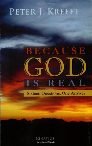 Because God Is Real Sixteen Questions, One Answer N/A edition cover