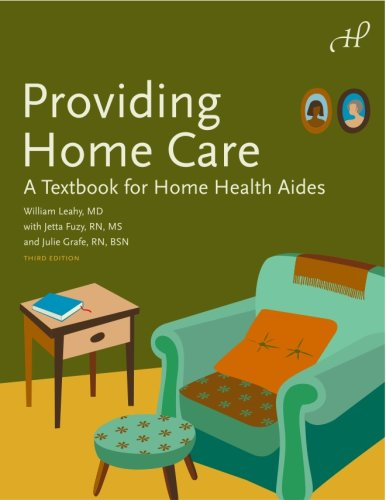 Providing Home Care : A Textbook for Home Health Aides 3rd edition cover