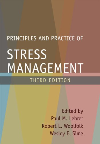 Principles and Practice of Stress Management  3rd 2007 (Revised) edition cover