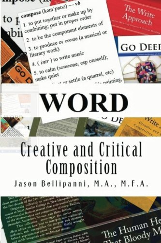 Word Creative and Critical Composition  2013 edition cover