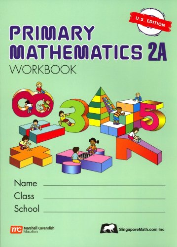 Primary Mathematics 2A Workbook  N/A edition cover