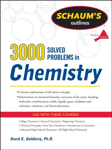 3,000 Solved Problems in Chemistry   2011 (Revised) edition cover