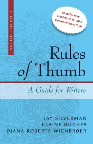 Rules of Thumb 8th 2010 edition cover