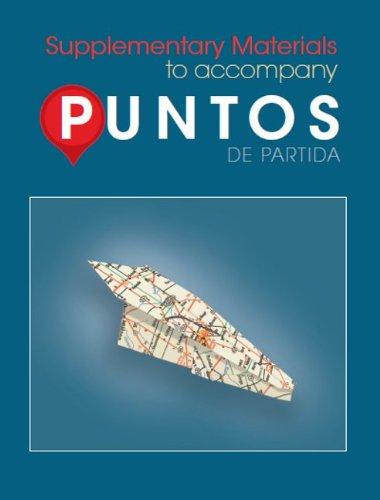 Puntos de Partida  8th 2012 edition cover