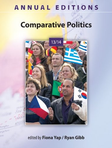 Annual Editions: Comparative Politics 13/14  31st 2014 9780078136009 Front Cover